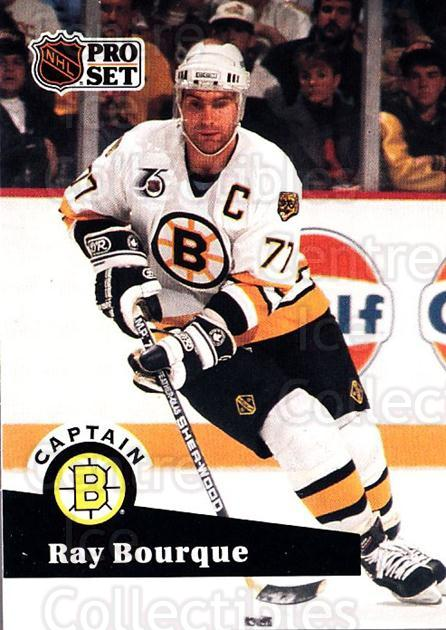 1991-92 Pro Set #567 Ray Bourque<br/>5 In Stock - $1.00 each - <a href=https://centericecollectibles.foxycart.com/cart?name=1991-92%20Pro%20Set%20%23567%20Ray%20Bourque...&quantity_max=5&price=$1.00&code=257068 class=foxycart> Buy it now! </a>