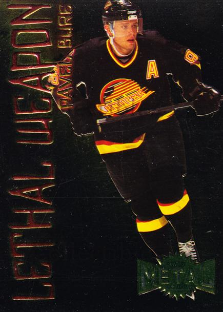 1996-97 Metal Universe Lethal Weapons #2 Pavel Bure<br/>1 In Stock - $5.00 each - <a href=https://centericecollectibles.foxycart.com/cart?name=1996-97%20Metal%20Universe%20Lethal%20Weapons%20%232%20Pavel%20Bure...&quantity_max=1&price=$5.00&code=257167 class=foxycart> Buy it now! </a>