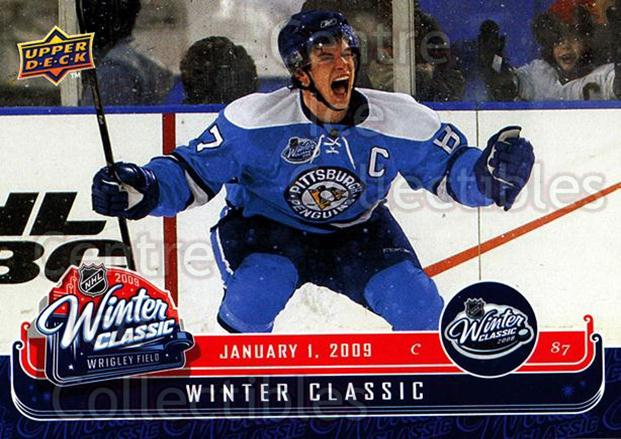 2008-09 Upper Deck MVP Winter Classic #1 Sidney Crosby<br/>1 In Stock - $5.00 each - <a href=https://centericecollectibles.foxycart.com/cart?name=2008-09%20Upper%20Deck%20MVP%20Winter%20Classic%20%231%20Sidney%20Crosby...&price=$5.00&code=257238 class=foxycart> Buy it now! </a>