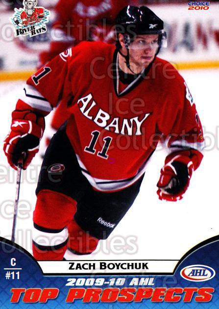 2009-10 AHL Top Prospects #6 Zach Boychuk<br/>4 In Stock - $3.00 each - <a href=https://centericecollectibles.foxycart.com/cart?name=2009-10%20AHL%20Top%20Prospects%20%236%20Zach%20Boychuk...&quantity_max=4&price=$3.00&code=257263 class=foxycart> Buy it now! </a>