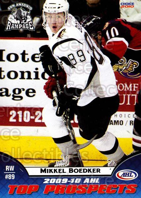2009-10 AHL Top Prospects #41 Mikkel Boedker<br/>3 In Stock - $3.00 each - <a href=https://centericecollectibles.foxycart.com/cart?name=2009-10%20AHL%20Top%20Prospects%20%2341%20Mikkel%20Boedker...&quantity_max=3&price=$3.00&code=257298 class=foxycart> Buy it now! </a>