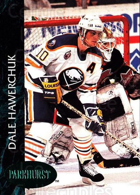 1992-93 Parkhurst Emerald #11 Dale Hawerchuk<br/>6 In Stock - $2.00 each - <a href=https://centericecollectibles.foxycart.com/cart?name=1992-93%20Parkhurst%20Emerald%20%2311%20Dale%20Hawerchuk...&quantity_max=6&price=$2.00&code=257367 class=foxycart> Buy it now! </a>
