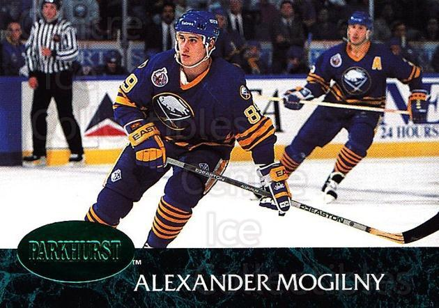 1992-93 Parkhurst Emerald #13 Alexander Mogilny<br/>7 In Stock - $2.00 each - <a href=https://centericecollectibles.foxycart.com/cart?name=1992-93%20Parkhurst%20Emerald%20%2313%20Alexander%20Mogil...&quantity_max=7&price=$2.00&code=257369 class=foxycart> Buy it now! </a>