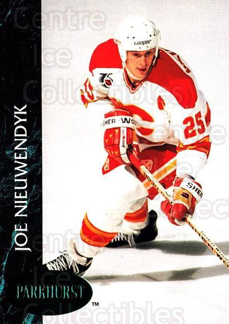 1992-93 Parkhurst Emerald #21 Joe Nieuwendyk<br/>7 In Stock - $2.00 each - <a href=https://centericecollectibles.foxycart.com/cart?name=1992-93%20Parkhurst%20Emerald%20%2321%20Joe%20Nieuwendyk...&quantity_max=7&price=$2.00&code=257377 class=foxycart> Buy it now! </a>