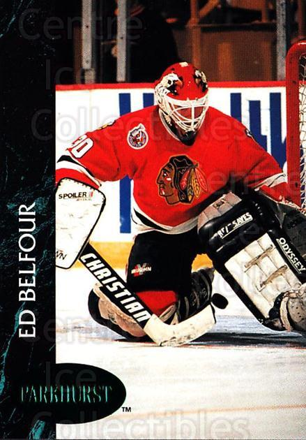 1992-93 Parkhurst Emerald #28 Ed Belfour<br/>1 In Stock - $2.00 each - <a href=https://centericecollectibles.foxycart.com/cart?name=1992-93%20Parkhurst%20Emerald%20%2328%20Ed%20Belfour...&price=$2.00&code=257384 class=foxycart> Buy it now! </a>