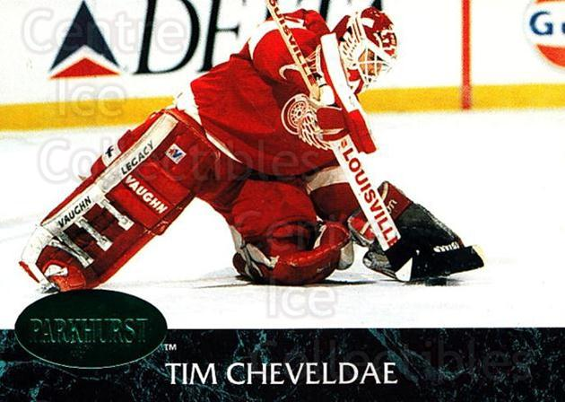 1992-93 Parkhurst Emerald #37 Tim Cheveldae<br/>5 In Stock - $2.00 each - <a href=https://centericecollectibles.foxycart.com/cart?name=1992-93%20Parkhurst%20Emerald%20%2337%20Tim%20Cheveldae...&quantity_max=5&price=$2.00&code=257393 class=foxycart> Buy it now! </a>