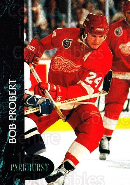1992-93 Parkhurst Emerald #41 Bob Probert<br/>4 In Stock - $2.00 each - <a href=https://centericecollectibles.foxycart.com/cart?name=1992-93%20Parkhurst%20Emerald%20%2341%20Bob%20Probert...&quantity_max=4&price=$2.00&code=257397 class=foxycart> Buy it now! </a>