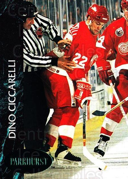 1992-93 Parkhurst Emerald #45 Dino Ciccarelli<br/>7 In Stock - $2.00 each - <a href=https://centericecollectibles.foxycart.com/cart?name=1992-93%20Parkhurst%20Emerald%20%2345%20Dino%20Ciccarelli...&quantity_max=7&price=$2.00&code=257401 class=foxycart> Buy it now! </a>