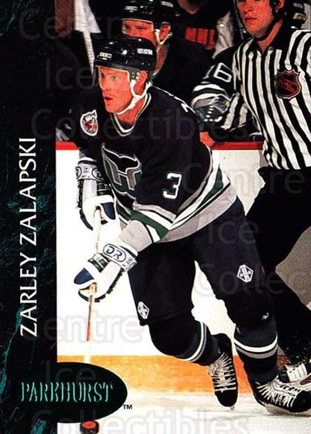 1992-93 Parkhurst Emerald #59 Zarley Zalapski<br/>6 In Stock - $2.00 each - <a href=https://centericecollectibles.foxycart.com/cart?name=1992-93%20Parkhurst%20Emerald%20%2359%20Zarley%20Zalapski...&quantity_max=6&price=$2.00&code=257415 class=foxycart> Buy it now! </a>