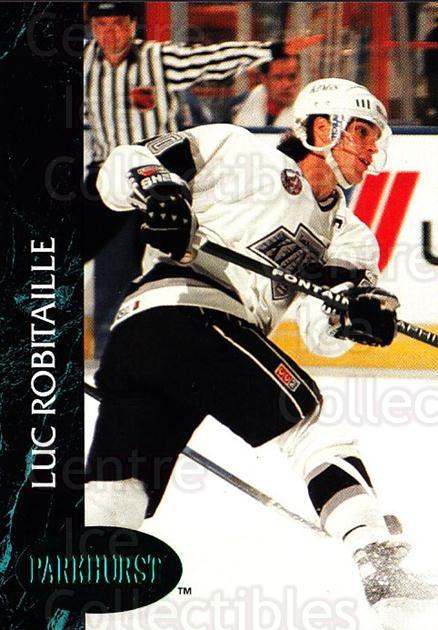 1992-93 Parkhurst Emerald #68 Luc Robitaille<br/>6 In Stock - $2.00 each - <a href=https://centericecollectibles.foxycart.com/cart?name=1992-93%20Parkhurst%20Emerald%20%2368%20Luc%20Robitaille...&quantity_max=6&price=$2.00&code=257424 class=foxycart> Buy it now! </a>