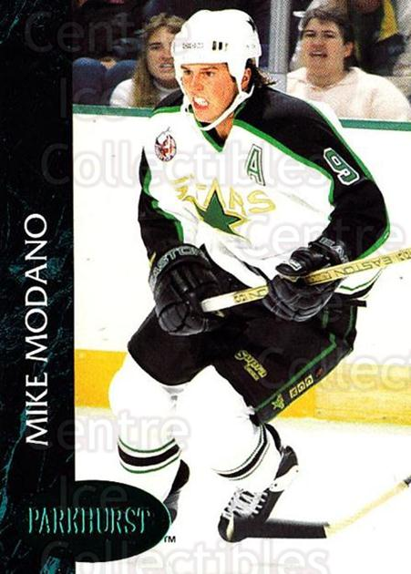 1992-93 Parkhurst Emerald #75 Mike Modano<br/>5 In Stock - $2.00 each - <a href=https://centericecollectibles.foxycart.com/cart?name=1992-93%20Parkhurst%20Emerald%20%2375%20Mike%20Modano...&quantity_max=5&price=$2.00&code=257431 class=foxycart> Buy it now! </a>