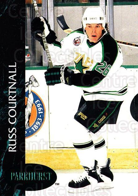 1992-93 Parkhurst Emerald #78 Russ Courtnall<br/>7 In Stock - $2.00 each - <a href=https://centericecollectibles.foxycart.com/cart?name=1992-93%20Parkhurst%20Emerald%20%2378%20Russ%20Courtnall...&quantity_max=7&price=$2.00&code=257434 class=foxycart> Buy it now! </a>