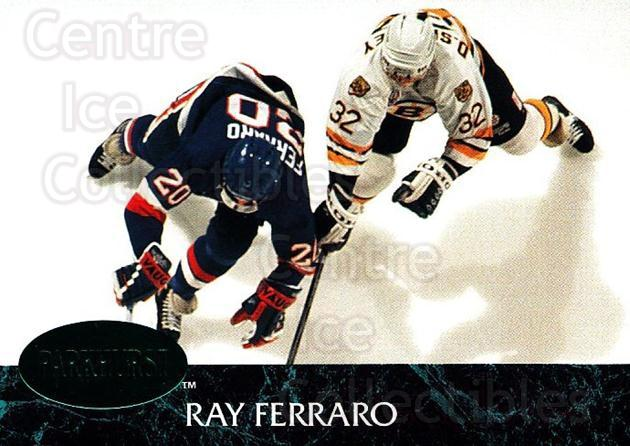 1992-93 Parkhurst Emerald #98 Ray Ferraro<br/>7 In Stock - $2.00 each - <a href=https://centericecollectibles.foxycart.com/cart?name=1992-93%20Parkhurst%20Emerald%20%2398%20Ray%20Ferraro...&quantity_max=7&price=$2.00&code=257454 class=foxycart> Buy it now! </a>