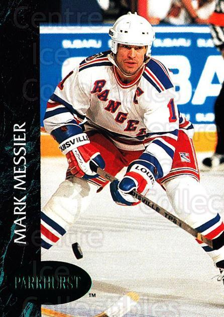 1992-93 Parkhurst Emerald #111 Mark Messier<br/>6 In Stock - $2.00 each - <a href=https://centericecollectibles.foxycart.com/cart?name=1992-93%20Parkhurst%20Emerald%20%23111%20Mark%20Messier...&quantity_max=6&price=$2.00&code=257467 class=foxycart> Buy it now! </a>