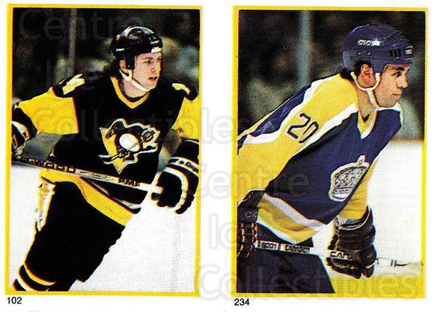 1985-86 O-Pee-Chee Stickers #102-234 Doug Shedden, Mark Hardy<br/>5 In Stock - $2.00 each - <a href=https://centericecollectibles.foxycart.com/cart?name=1985-86%20O-Pee-Chee%20Stickers%20%23102-234%20Doug%20Shedden,%20M...&quantity_max=5&price=$2.00&code=25746 class=foxycart> Buy it now! </a>