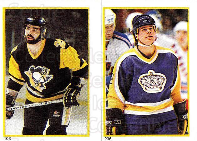 1985-86 O-Pee-Chee Stickers #103-236 Wayne Babych, Jim Fox<br/>7 In Stock - $1.00 each - <a href=https://centericecollectibles.foxycart.com/cart?name=1985-86%20O-Pee-Chee%20Stickers%20%23103-236%20Wayne%20Babych,%20J...&price=$1.00&code=25747 class=foxycart> Buy it now! </a>