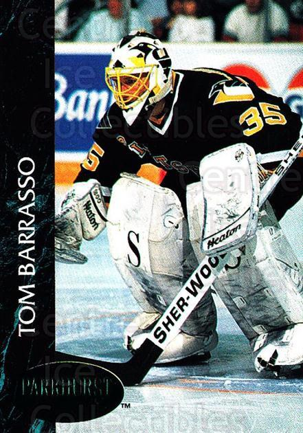 1992-93 Parkhurst Emerald #134 Tom Barrasso<br/>6 In Stock - $2.00 each - <a href=https://centericecollectibles.foxycart.com/cart?name=1992-93%20Parkhurst%20Emerald%20%23134%20Tom%20Barrasso...&price=$2.00&code=257490 class=foxycart> Buy it now! </a>