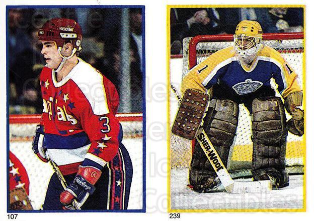 1985-86 O-Pee-Chee Stickers #107-239 Scott Stevens, Bob Janecyk<br/>8 In Stock - $2.00 each - <a href=https://centericecollectibles.foxycart.com/cart?name=1985-86%20O-Pee-Chee%20Stickers%20%23107-239%20Scott%20Stevens,%20...&quantity_max=8&price=$2.00&code=25751 class=foxycart> Buy it now! </a>