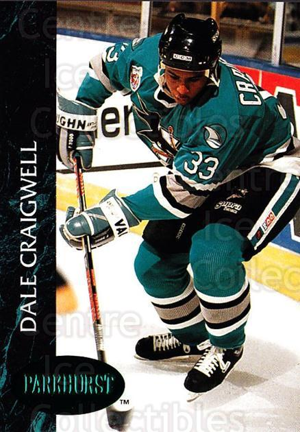 1992-93 Parkhurst Emerald #168 Dale Craigwell<br/>6 In Stock - $2.00 each - <a href=https://centericecollectibles.foxycart.com/cart?name=1992-93%20Parkhurst%20Emerald%20%23168%20Dale%20Craigwell...&quantity_max=6&price=$2.00&code=257524 class=foxycart> Buy it now! </a>