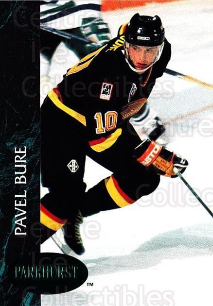 1992-93 Parkhurst Emerald #188 Pavel Bure<br/>6 In Stock - $3.00 each - <a href=https://centericecollectibles.foxycart.com/cart?name=1992-93%20Parkhurst%20Emerald%20%23188%20Pavel%20Bure...&quantity_max=6&price=$3.00&code=257544 class=foxycart> Buy it now! </a>
