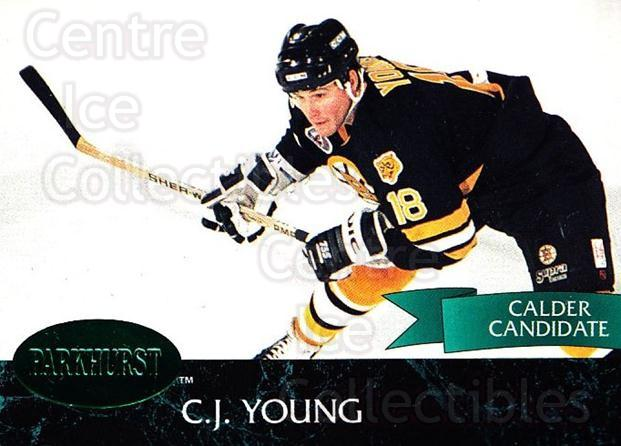 1992-93 Parkhurst Emerald #246 CJ Young<br/>5 In Stock - $2.00 each - <a href=https://centericecollectibles.foxycart.com/cart?name=1992-93%20Parkhurst%20Emerald%20%23246%20CJ%20Young...&quantity_max=5&price=$2.00&code=257602 class=foxycart> Buy it now! </a>