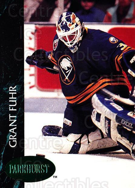 1992-93 Parkhurst Emerald #250 Grant Fuhr<br/>5 In Stock - $2.00 each - <a href=https://centericecollectibles.foxycart.com/cart?name=1992-93%20Parkhurst%20Emerald%20%23250%20Grant%20Fuhr...&quantity_max=5&price=$2.00&code=257606 class=foxycart> Buy it now! </a>
