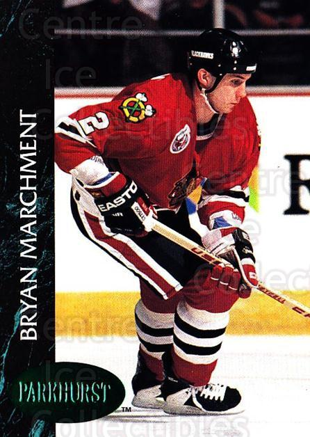 1992-93 Parkhurst Emerald #267 Bryan Marchment<br/>5 In Stock - $2.00 each - <a href=https://centericecollectibles.foxycart.com/cart?name=1992-93%20Parkhurst%20Emerald%20%23267%20Bryan%20Marchment...&quantity_max=5&price=$2.00&code=257623 class=foxycart> Buy it now! </a>