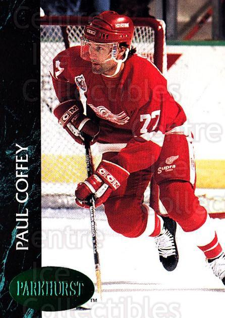 1992-93 Parkhurst Emerald #276 Paul Coffey<br/>2 In Stock - $2.00 each - <a href=https://centericecollectibles.foxycart.com/cart?name=1992-93%20Parkhurst%20Emerald%20%23276%20Paul%20Coffey...&quantity_max=2&price=$2.00&code=257632 class=foxycart> Buy it now! </a>