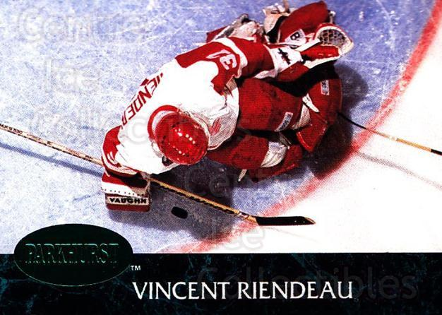 1992-93 Parkhurst Emerald #278 Vincent Riendeau<br/>4 In Stock - $2.00 each - <a href=https://centericecollectibles.foxycart.com/cart?name=1992-93%20Parkhurst%20Emerald%20%23278%20Vincent%20Riendea...&quantity_max=4&price=$2.00&code=257634 class=foxycart> Buy it now! </a>