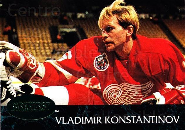 1992-93 Parkhurst Emerald #283 Vladimir Konstantinov<br/>6 In Stock - $2.00 each - <a href=https://centericecollectibles.foxycart.com/cart?name=1992-93%20Parkhurst%20Emerald%20%23283%20Vladimir%20Konsta...&quantity_max=6&price=$2.00&code=257639 class=foxycart> Buy it now! </a>