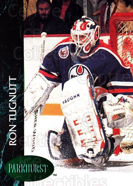 1992-93 Parkhurst Emerald #290 Ron Tugnutt<br/>6 In Stock - $2.00 each - <a href=https://centericecollectibles.foxycart.com/cart?name=1992-93%20Parkhurst%20Emerald%20%23290%20Ron%20Tugnutt...&quantity_max=6&price=$2.00&code=257646 class=foxycart> Buy it now! </a>