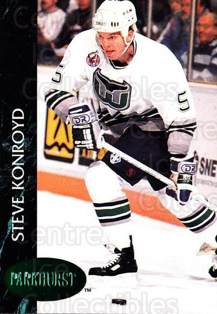 1992-93 Parkhurst Emerald #299 Steve Konroyd<br/>6 In Stock - $2.00 each - <a href=https://centericecollectibles.foxycart.com/cart?name=1992-93%20Parkhurst%20Emerald%20%23299%20Steve%20Konroyd...&quantity_max=6&price=$2.00&code=257655 class=foxycart> Buy it now! </a>