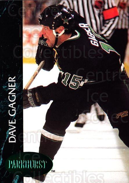 1992-93 Parkhurst Emerald #311 Dave Gagner<br/>5 In Stock - $2.00 each - <a href=https://centericecollectibles.foxycart.com/cart?name=1992-93%20Parkhurst%20Emerald%20%23311%20Dave%20Gagner...&quantity_max=5&price=$2.00&code=257667 class=foxycart> Buy it now! </a>