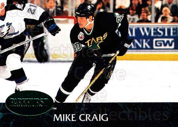1992-93 Parkhurst Emerald #314 Mike Craig<br/>5 In Stock - $2.00 each - <a href=https://centericecollectibles.foxycart.com/cart?name=1992-93%20Parkhurst%20Emerald%20%23314%20Mike%20Craig...&quantity_max=5&price=$2.00&code=257670 class=foxycart> Buy it now! </a>