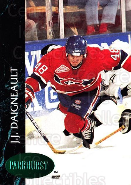 1992-93 Parkhurst Emerald #324 JJ Daigneault<br/>5 In Stock - $2.00 each - <a href=https://centericecollectibles.foxycart.com/cart?name=1992-93%20Parkhurst%20Emerald%20%23324%20JJ%20Daigneault...&quantity_max=5&price=$2.00&code=257680 class=foxycart> Buy it now! </a>