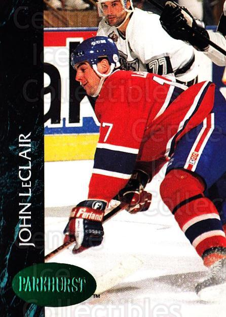1992-93 Parkhurst Emerald #326 John LeClair<br/>4 In Stock - $2.00 each - <a href=https://centericecollectibles.foxycart.com/cart?name=1992-93%20Parkhurst%20Emerald%20%23326%20John%20LeClair...&quantity_max=4&price=$2.00&code=257682 class=foxycart> Buy it now! </a>