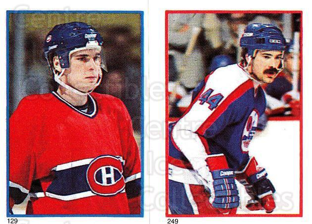 1985-86 O-Pee-Chee Stickers #129-249 Tom Kurvers, Dave Babych<br/>8 In Stock - $2.00 each - <a href=https://centericecollectibles.foxycart.com/cart?name=1985-86%20O-Pee-Chee%20Stickers%20%23129-249%20Tom%20Kurvers,%20Da...&quantity_max=8&price=$2.00&code=25772 class=foxycart> Buy it now! </a>