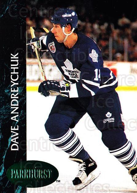 1992-93 Parkhurst Emerald #409 Dave Andreychuk<br/>3 In Stock - $2.00 each - <a href=https://centericecollectibles.foxycart.com/cart?name=1992-93%20Parkhurst%20Emerald%20%23409%20Dave%20Andreychuk...&quantity_max=3&price=$2.00&code=257765 class=foxycart> Buy it now! </a>