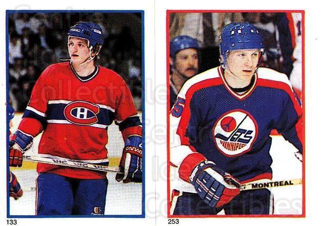 1985-86 O-Pee-Chee Stickers #133-253 Pierre Mondou, Thomas Steen<br/>7 In Stock - $2.00 each - <a href=https://centericecollectibles.foxycart.com/cart?name=1985-86%20O-Pee-Chee%20Stickers%20%23133-253%20Pierre%20Mondou,%20...&quantity_max=7&price=$2.00&code=25777 class=foxycart> Buy it now! </a>