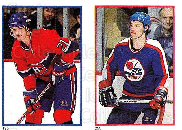 1985-86 O-Pee-Chee Stickers #135-255 Guy Carbonneau, Doug Smail<br/>6 In Stock - $2.00 each - <a href=https://centericecollectibles.foxycart.com/cart?name=1985-86%20O-Pee-Chee%20Stickers%20%23135-255%20Guy%20Carbonneau,...&quantity_max=6&price=$2.00&code=25779 class=foxycart> Buy it now! </a>