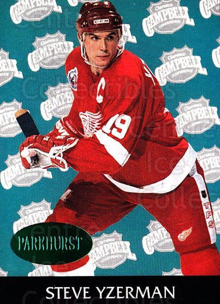1992-93 Parkhurst Emerald #456 Steve Yzerman<br/>3 In Stock - $5.00 each - <a href=https://centericecollectibles.foxycart.com/cart?name=1992-93%20Parkhurst%20Emerald%20%23456%20Steve%20Yzerman...&price=$5.00&code=257812 class=foxycart> Buy it now! </a>