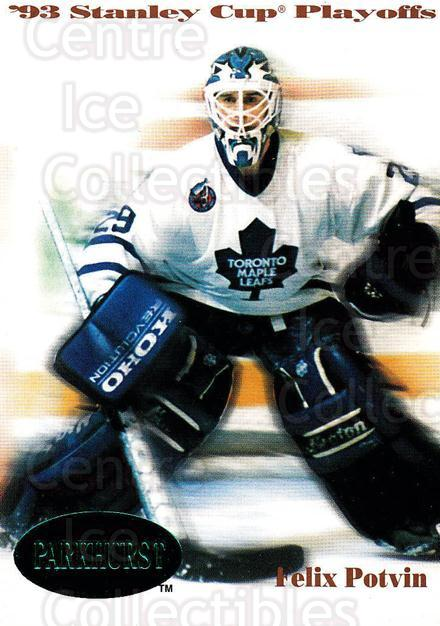 1992-93 Parkhurst Emerald #507 Felix Potvin<br/>5 In Stock - $2.00 each - <a href=https://centericecollectibles.foxycart.com/cart?name=1992-93%20Parkhurst%20Emerald%20%23507%20Felix%20Potvin...&quantity_max=5&price=$2.00&code=257863 class=foxycart> Buy it now! </a>