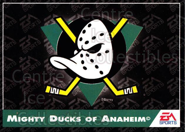1994 EA Sports #159 Anaheim Mighty Ducks, Checklist<br/>5 In Stock - $1.00 each - <a href=https://centericecollectibles.foxycart.com/cart?name=1994%20EA%20Sports%20%23159%20Anaheim%20Mighty%20...&quantity_max=5&price=$1.00&code=2579 class=foxycart> Buy it now! </a>