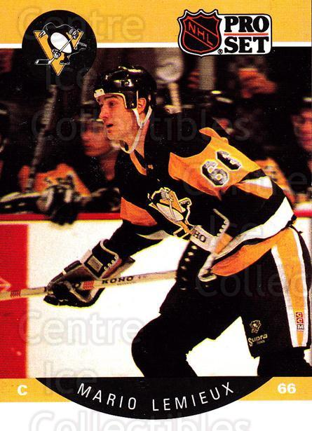1990-91 Pro Set #236 Mario Lemieux<br/>1 In Stock - $2.00 each - <a href=https://centericecollectibles.foxycart.com/cart?name=1990-91%20Pro%20Set%20%23236%20Mario%20Lemieux...&price=$2.00&code=258102 class=foxycart> Buy it now! </a>