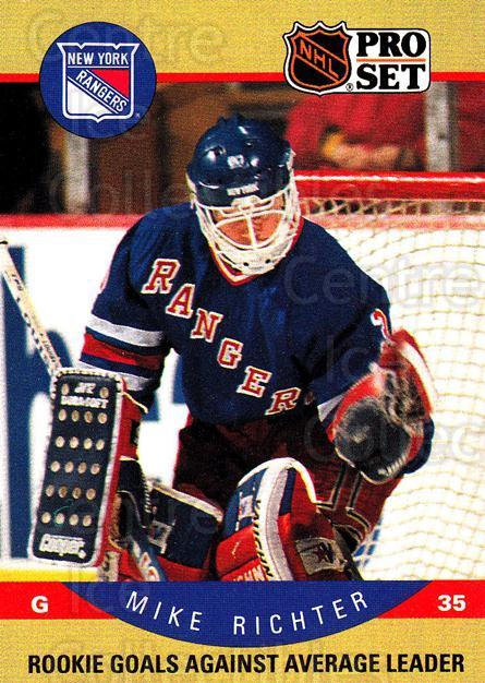 1990-91 Pro Set #398 Mike Richter<br/>4 In Stock - $1.00 each - <a href=https://centericecollectibles.foxycart.com/cart?name=1990-91%20Pro%20Set%20%23398%20Mike%20Richter...&quantity_max=4&price=$1.00&code=258264 class=foxycart> Buy it now! </a>
