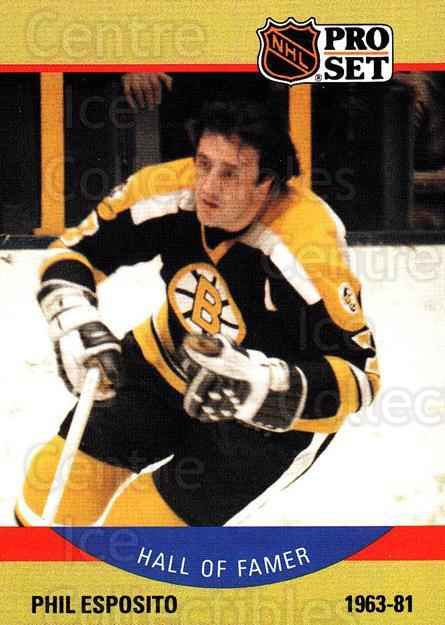 1990-91 Pro Set #403 Phil Esposito<br/>3 In Stock - $2.00 each - <a href=https://centericecollectibles.foxycart.com/cart?name=1990-91%20Pro%20Set%20%23403%20Phil%20Esposito...&quantity_max=3&price=$2.00&code=258269 class=foxycart> Buy it now! </a>
