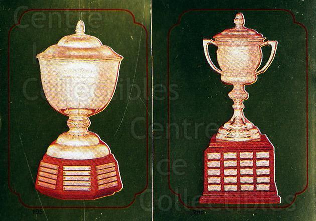 1985-86 O-Pee-Chee Stickers #195-206 Norris Trophy, Lady Byng Trophy<br/>9 In Stock - $2.00 each - <a href=https://centericecollectibles.foxycart.com/cart?name=1985-86%20O-Pee-Chee%20Stickers%20%23195-206%20Norris%20Trophy,%20...&quantity_max=9&price=$2.00&code=25844 class=foxycart> Buy it now! </a>