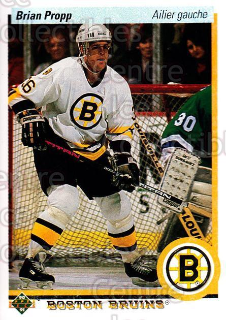 1990-91 Upper Deck French #2 Brian Propp<br/>17 In Stock - $1.00 each - <a href=https://centericecollectibles.foxycart.com/cart?name=1990-91%20Upper%20Deck%20French%20%232%20Brian%20Propp...&quantity_max=17&price=$1.00&code=258573 class=foxycart> Buy it now! </a>