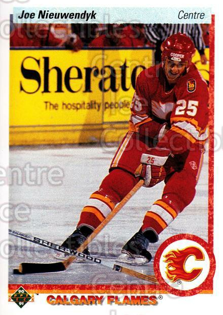 1990-91 Upper Deck French #26 Joe Nieuwendyk<br/>16 In Stock - $1.00 each - <a href=https://centericecollectibles.foxycart.com/cart?name=1990-91%20Upper%20Deck%20French%20%2326%20Joe%20Nieuwendyk...&quantity_max=16&price=$1.00&code=258597 class=foxycart> Buy it now! </a>