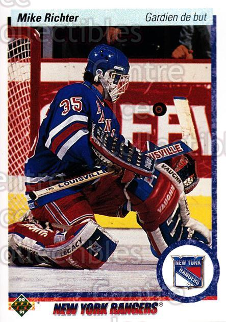 1990-91 Upper Deck French #32 Mike Richter<br/>19 In Stock - $2.00 each - <a href=https://centericecollectibles.foxycart.com/cart?name=1990-91%20Upper%20Deck%20French%20%2332%20Mike%20Richter...&quantity_max=19&price=$2.00&code=258603 class=foxycart> Buy it now! </a>